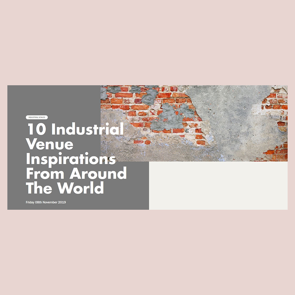 The Theodore Birmingham on Industrial Venues